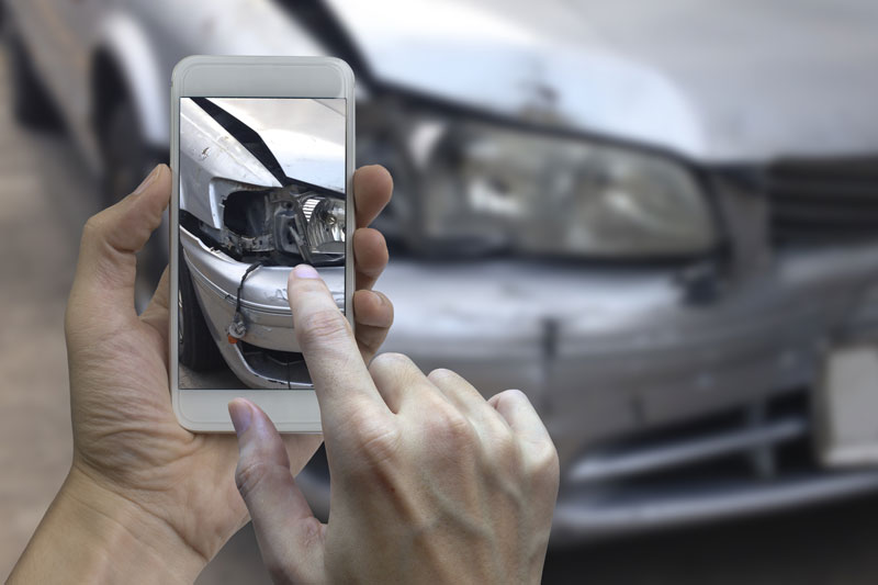 Taking Photos After A Car Accident