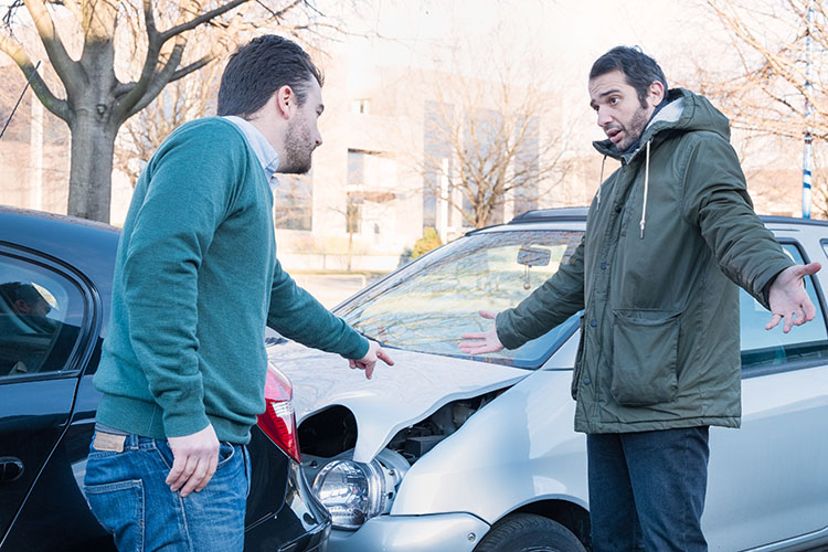 claiming compensation for an auto accident
